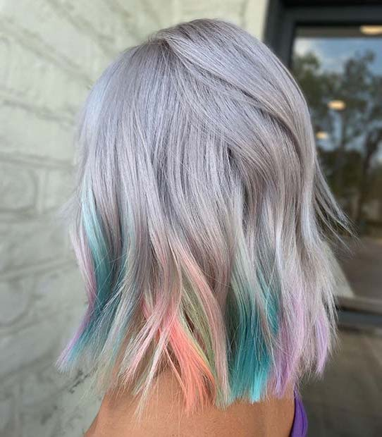 10 Best Gray Hair Color Ideas #5 | Her Beauty