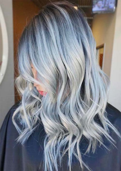 10 Best Gray Hair Color Ideas #6 | Her Beauty