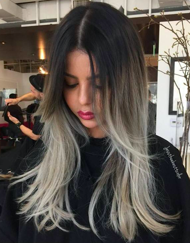 10 Best Gray Hair Color Ideas #7 | Her Beauty