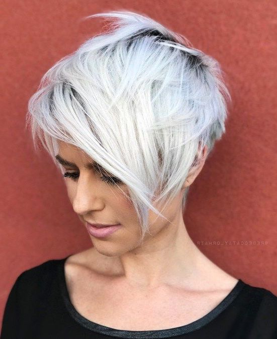 10 Best Gray Hair Color Ideas #8 | Her Beauty