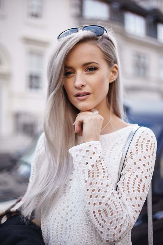 10 Best Gray Hair Color Ideas #9 | Her Beauty