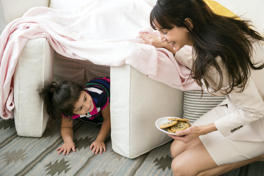 2.Build A Fort | 10 Games To Play With Kids While Self-Isolating | Her Beauty