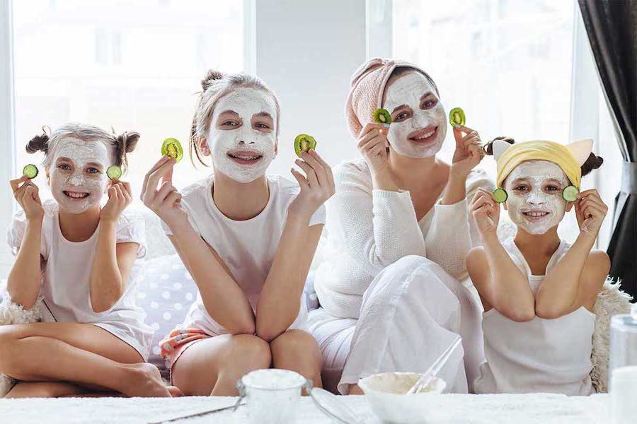 7.Pamper Session | 10 Games To Play With Kids While Self-Isolating | Her Beauty