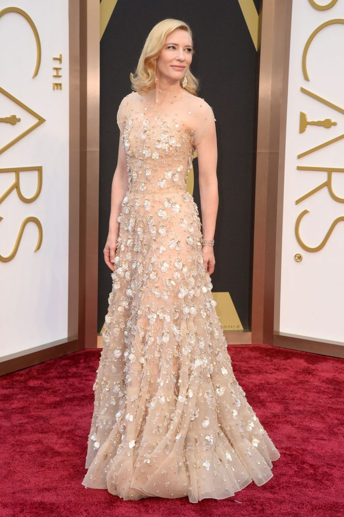 4. Cate Blanchett |  The 10 Most Expensive Oscar Dresses Of All Time |  Her beauty