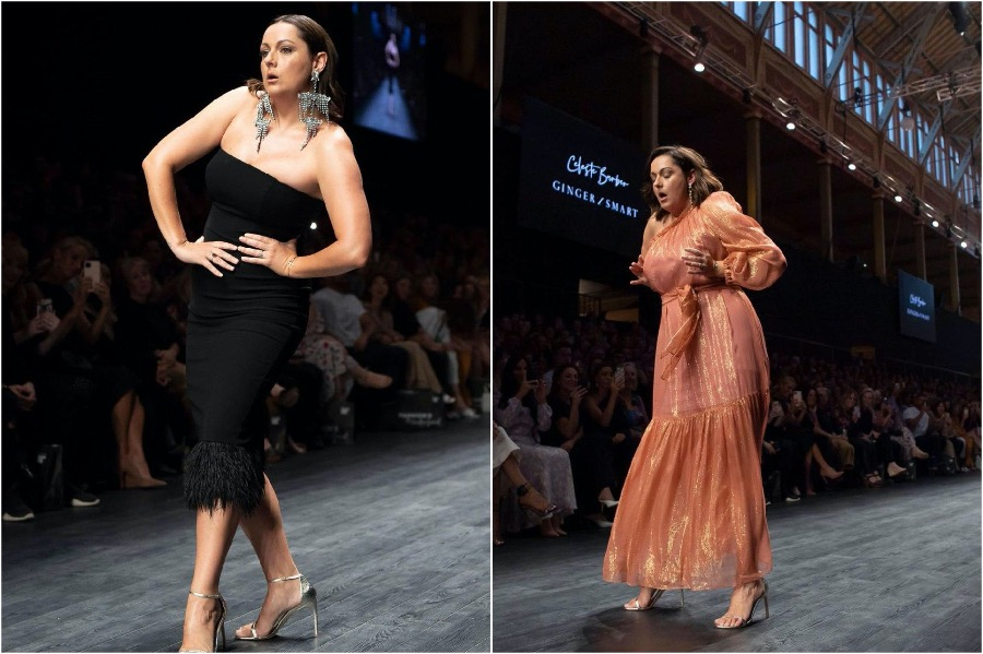 This image has an empty alt attribute; its file name is Celeste-Barber-Australian-Fashion-Week2.jpg