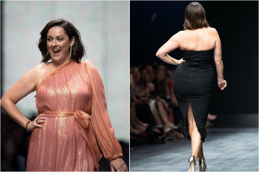 This image has an empty alt attribute; its file name is Celeste-Barber-Australian-Fashion-Week3.jpg