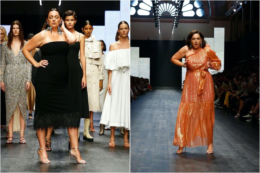 This image has an empty alt attribute; its file name is Celeste-Barber-Australian-Fashion-Week4.jpg