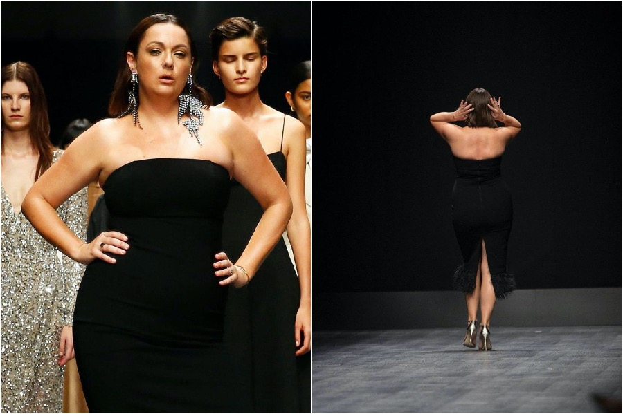 This image has an empty alt attribute; its file name is Celeste-Barber-Australian-Fashion-Week5.jpg