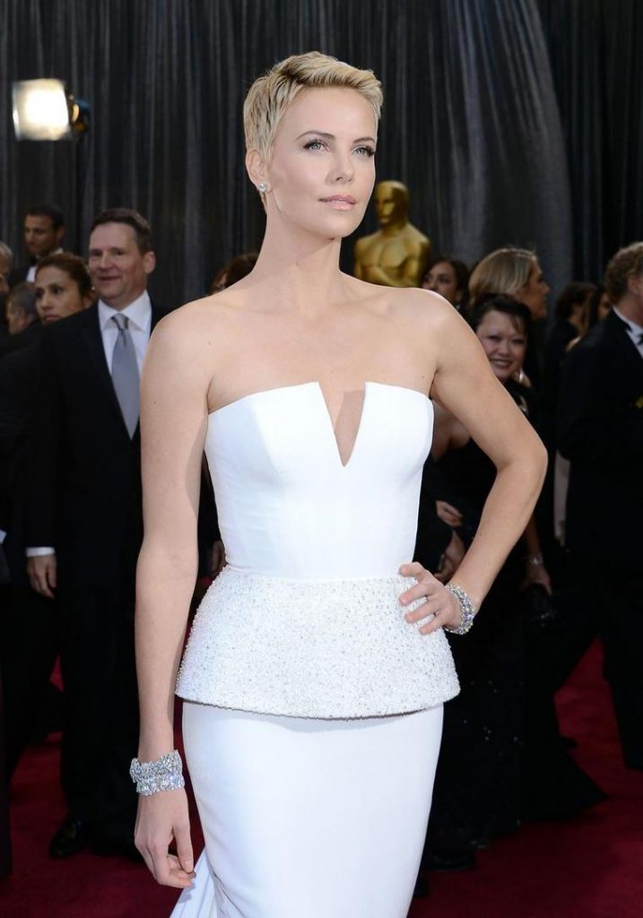 3. Charlize Theron |  The 10 Most Expensive Oscar Dresses Of All Time |  Her beauty
