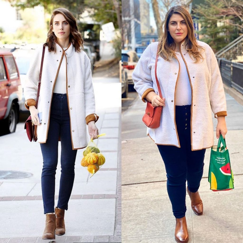 1. Alison Brie vs Katie Sturino | Celebs vs Katie Sturino – Style Inspo for Days | Her Beauty