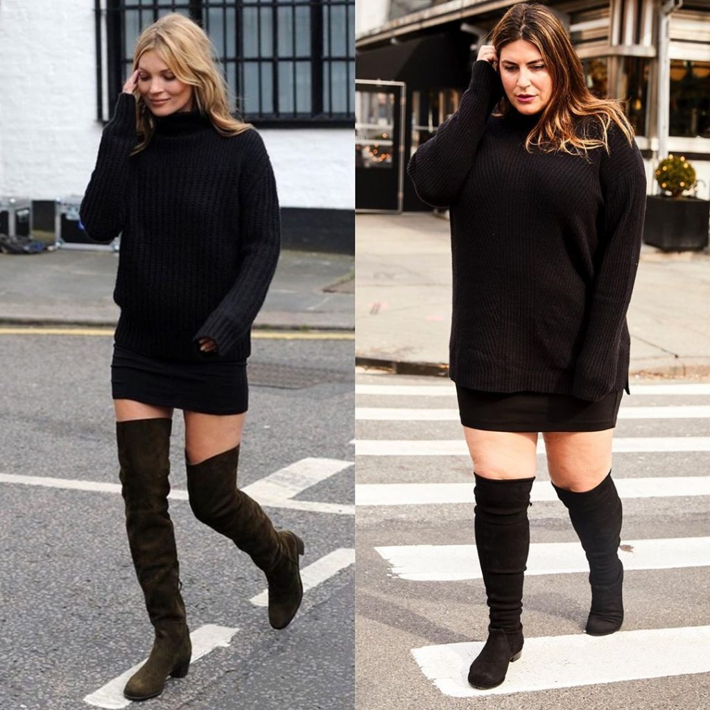 4. Kate Moss vs Katie Sturino | Celebs vs Katie Sturino – Style Inspo for Days | Her Beauty