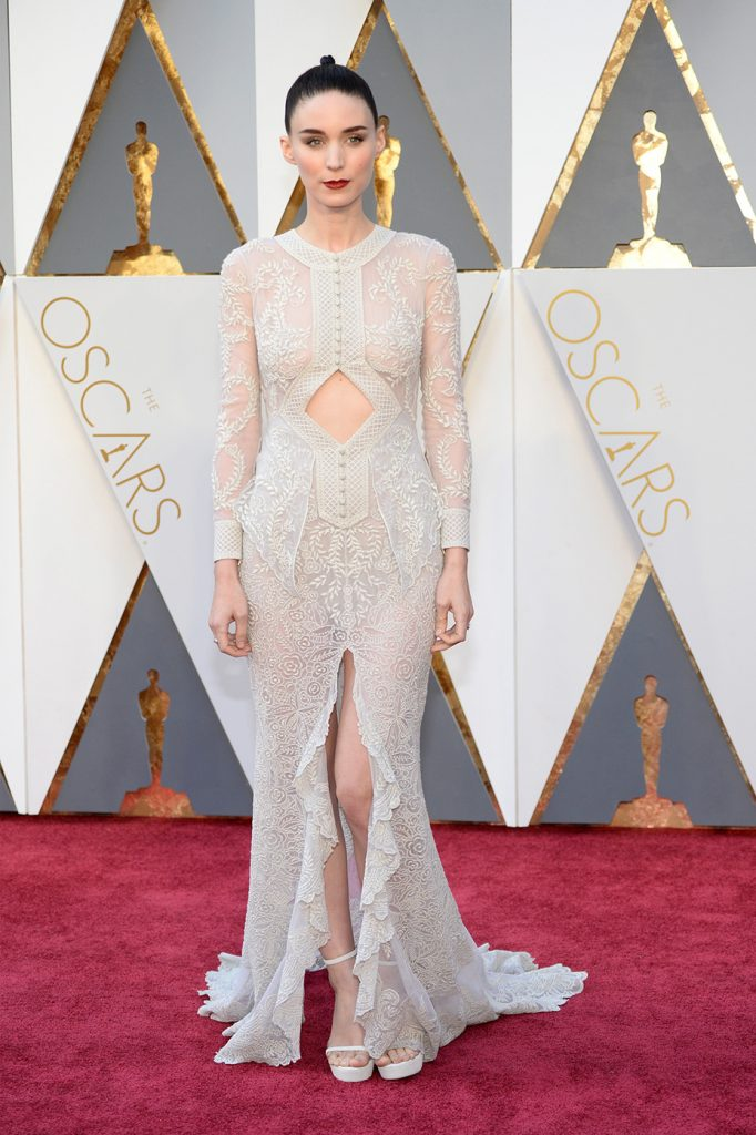 7. Rooney Mara |  The 10 Most Expensive Oscar Dresses Of All Time |  Her beauty