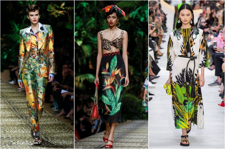 1.Tropical Vibes | 8 Spring Fashion Trends For 2020 | Her Beauty