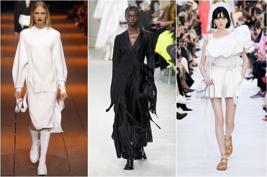 8.Total Black and White | 8 Spring Fashion Trends For 2020 | Her Beauty