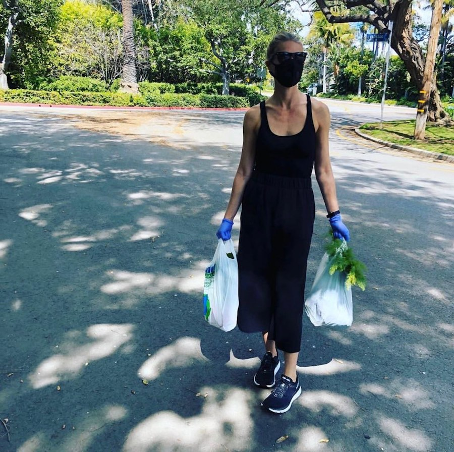3. Gwyneth Paltrow | 19 Photos of Celebs and Fashion Influencers Wearing Face Masks | Her Beauty