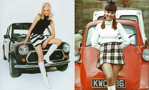 Long legs and mini-skirts   Surprising Things Men Found Attractive 50 Years Ago   Her Beauty