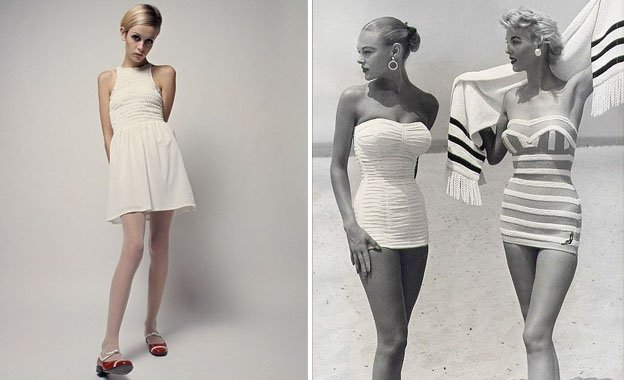 Skinny figures   Surprising Things Men Found Attractive 50 Years Ago   Her Beauty