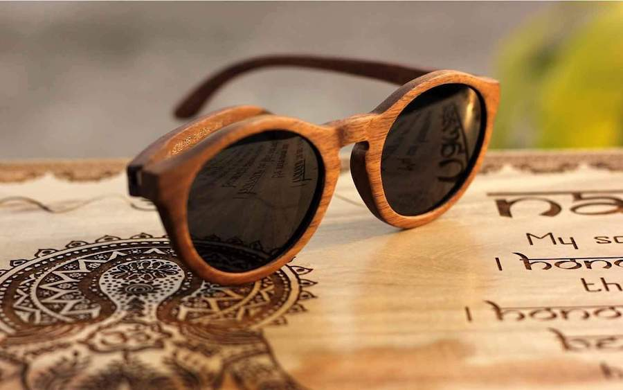 1. Wooden Sunglasses   8 Gift Ideas For Your New Boyfriend   Her Beauty