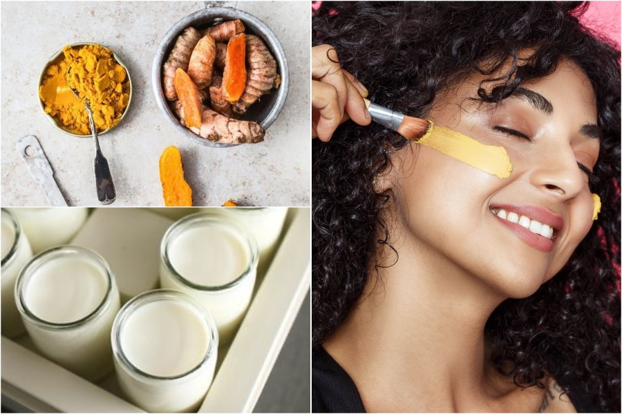 5. Turmeric & Yogurt Face Mask | Face Masks For Acne Prone Skin | Her Beauty