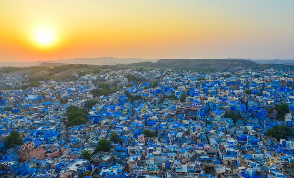 5 Blue Cities Around The World