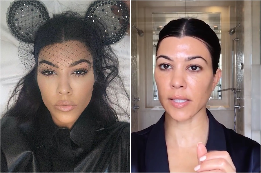 Kardashians Without Makeup |  Her beauty