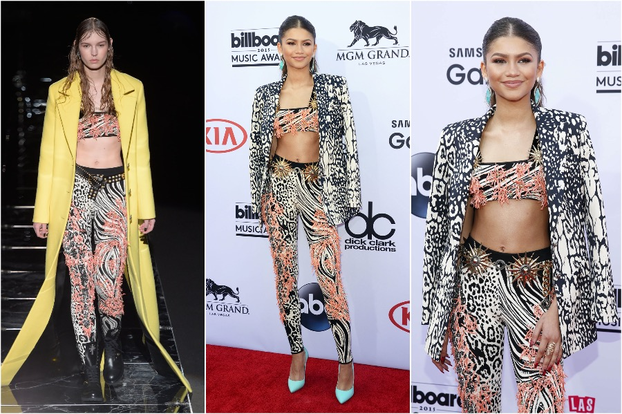 Zendaya in Fausto Puglisi | Runway Outfits That Look Completely Different on Celebrities and Models | Her Beauty