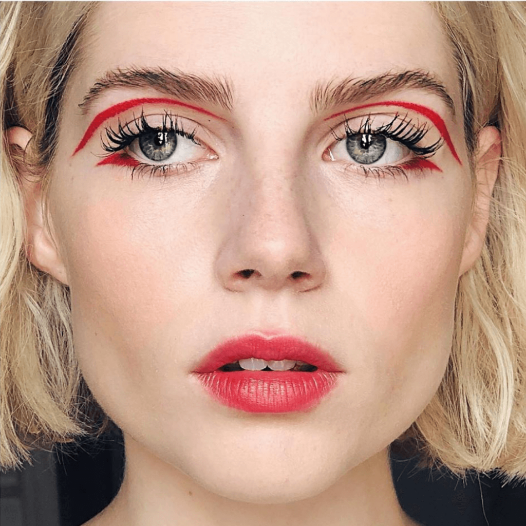 Graphic Eyeliner Makeup Ideas for Summer #7 | Her Beauty