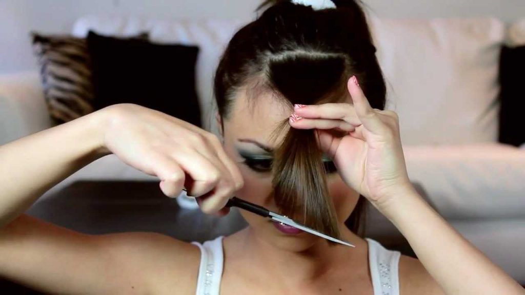 How To Cut Side Bangs   How to Cut Your Bangs at Home   Her Beauty