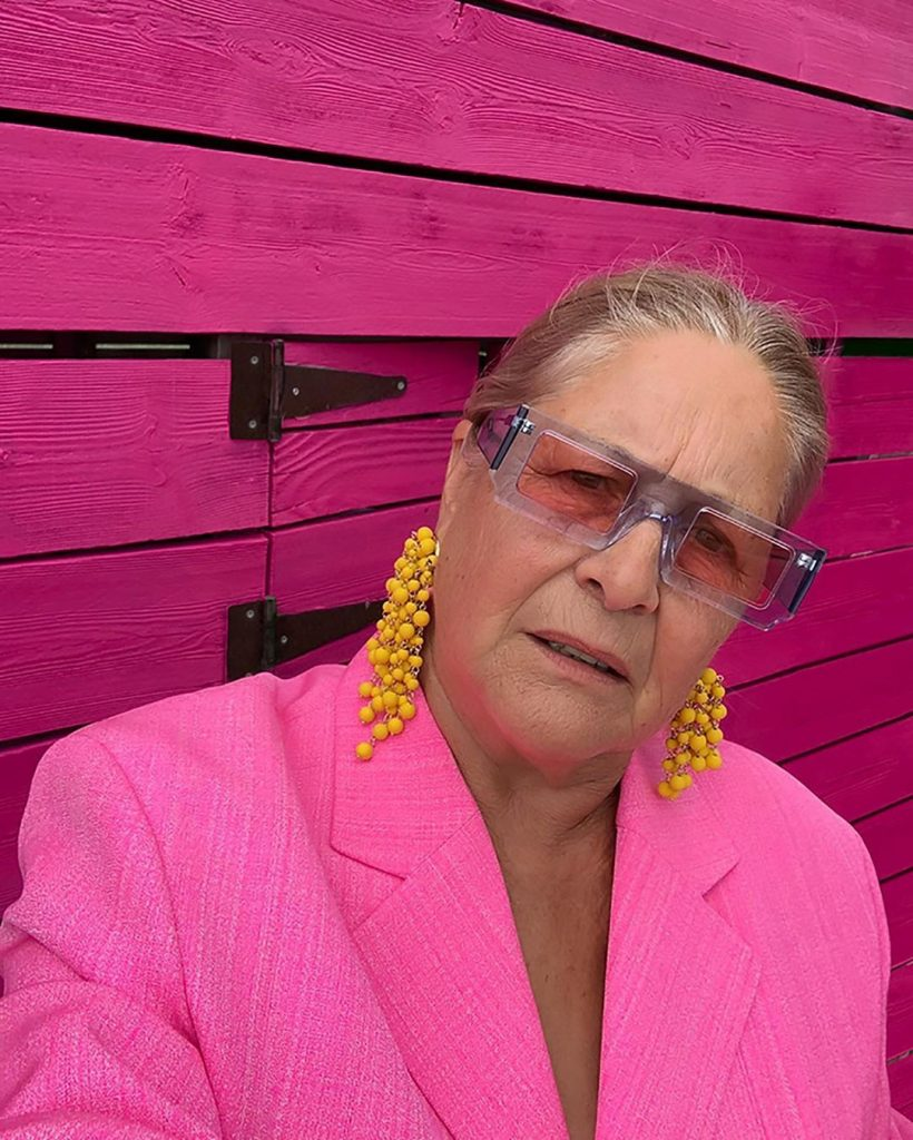 Jacquemus Grandma in the Look Book for his New Collection   Her Beauty