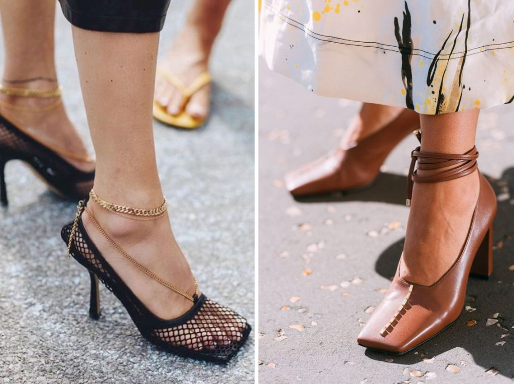 Square-Toed Heels   10 Cute Fashion Trends to Try This Summer   Her Beauty