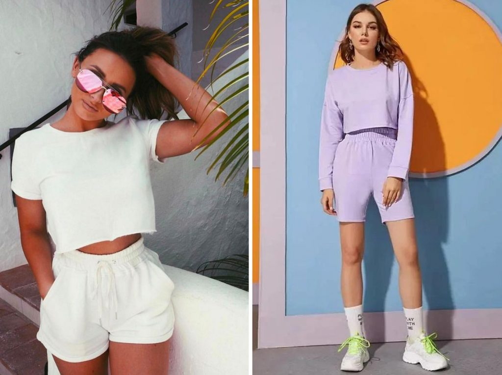 Sweat Shorts   10 Cute Fashion Trends to Try This Summer   Her Beauty