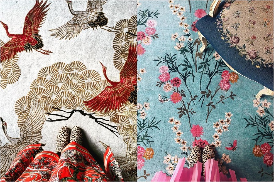 5. Rug   How To Add A Bit of Chinoiserie Into Your Home Interior   Her Beauty