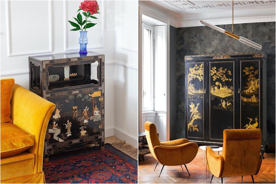 6. Laquered Tables   How To Add A Bit of Chinoiserie Into Your Home Interior   Her Beauty