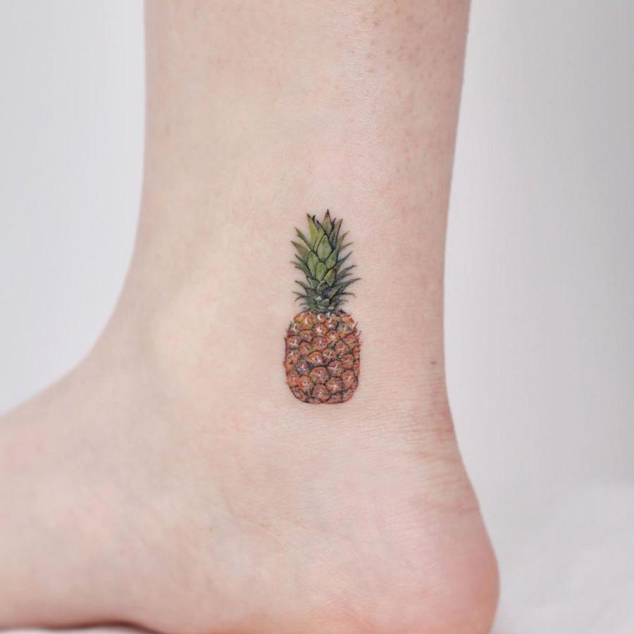 The Cutest Tiny Food Tattoos #8 | Her Beauty