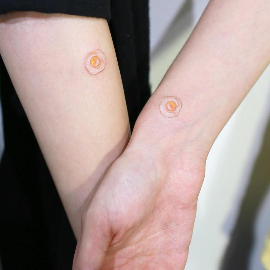 The Cutest Tiny Food Tattoos #9 | Her Beauty