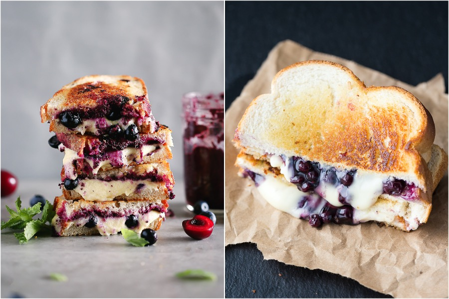 3. Gemini – Blueberry and Grilled Cheese Sandwich | Your Ideal Dessert According to Your Zodiac Sign | Her Beauty