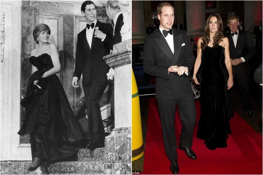 Does Kate Middleton Dress Like Princess Diana? #10 | Her Beauty