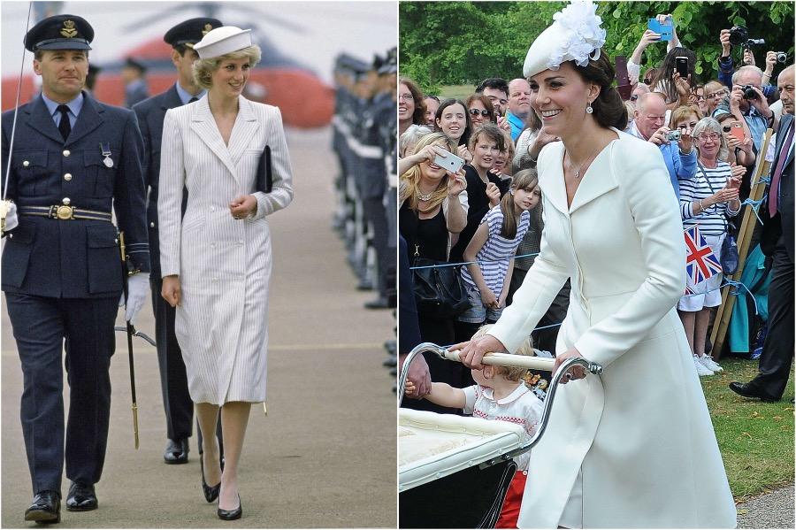 Does Kate Middleton Dress Like Princess Diana? #2 | Her Beauty