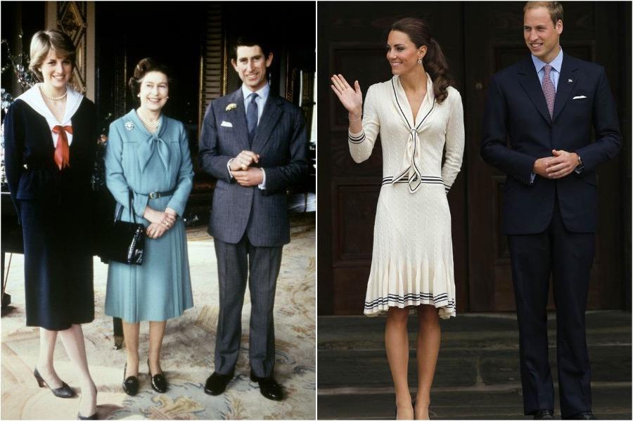 Does Kate Middleton Dress Like Princess Diana? #3 | Her Beauty