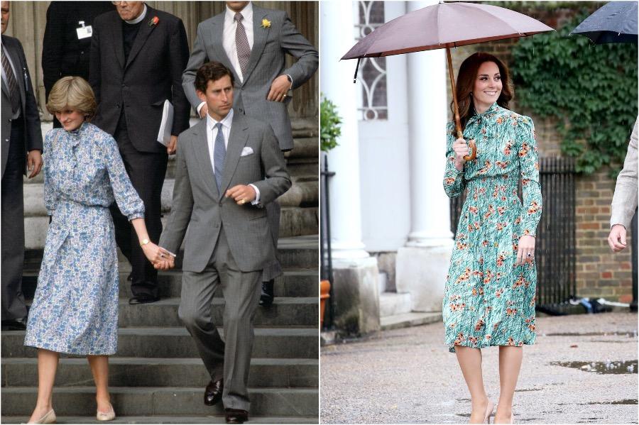 Does Kate Middleton Dress Like Princess Diana? #4 | Her Beauty
