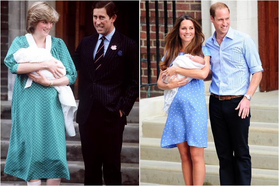 Does Kate Middleton Dress Like Princess Diana? #5 | Her Beauty