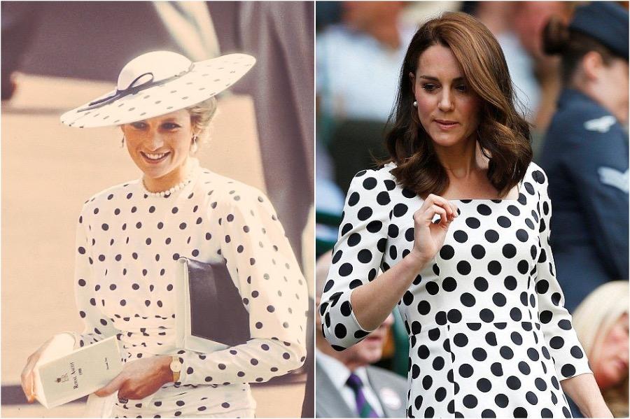 Does Kate Middleton Dress Like Princess Diana? #6 | Her Beauty