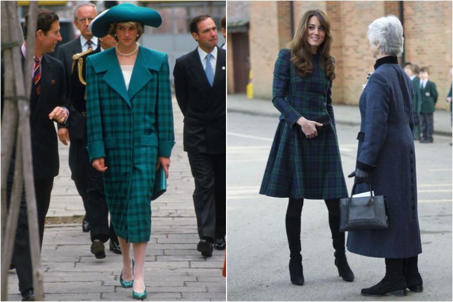 Does Kate Middleton Dress Like Princess Diana? #8 | Her Beauty
