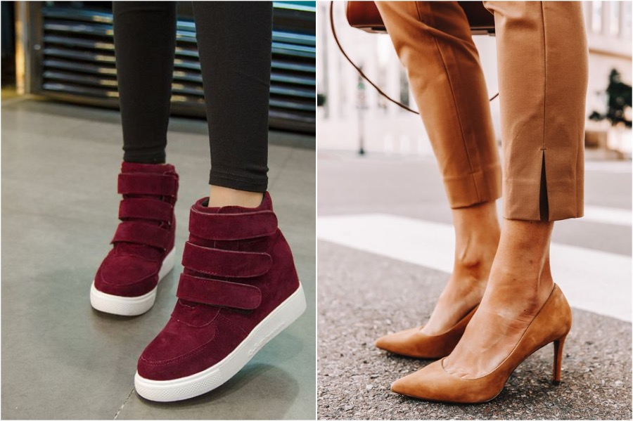 6. Wear The Right Shoes   How to Dress to Make Yourself Look Skinnier   Her Beauty