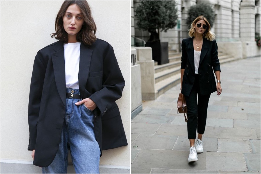 7. Wear A Blazer With Dark Jeans   How to Dress to Make Yourself Look Skinnier   Her Beauty
