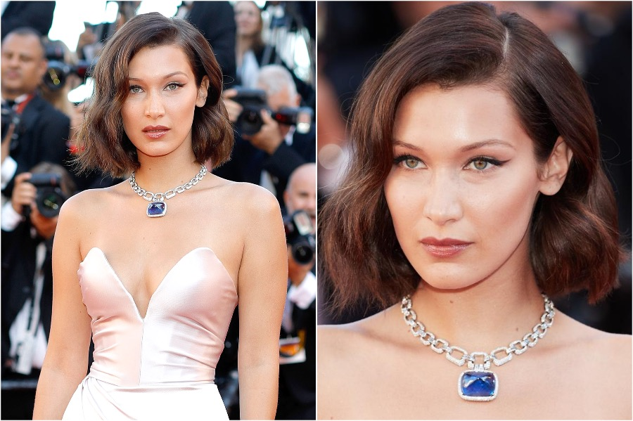 4. Bella Hadid, 2017 Cannes | The Most Memorable Red Carpet Jewelry | Her Beauty