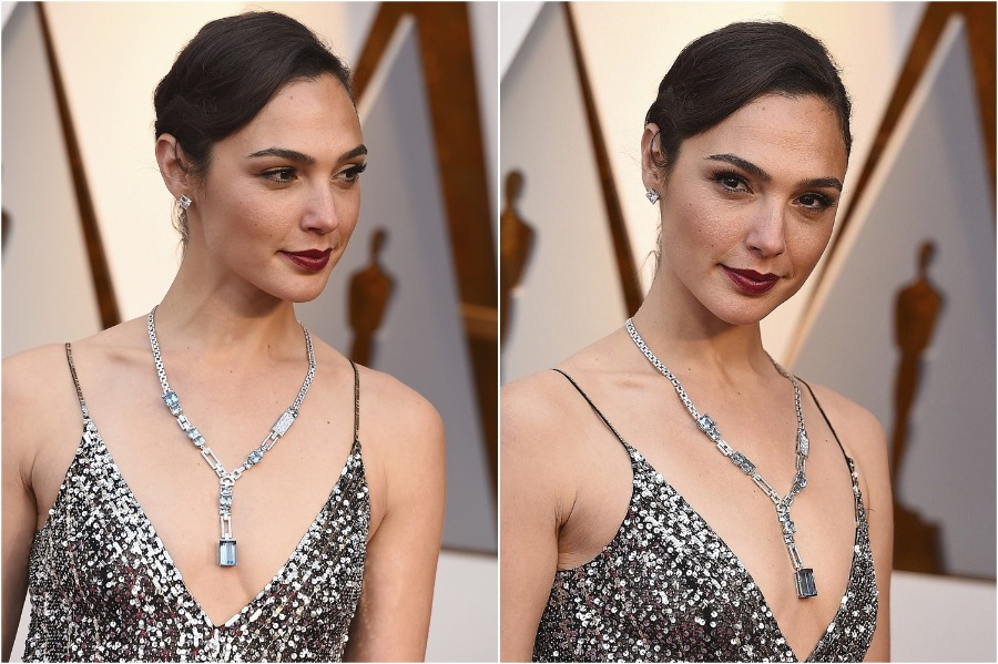 8. Gal Gadot, 2019 Oscars | The Most Memorable Red Carpet Jewelry | Her Beauty