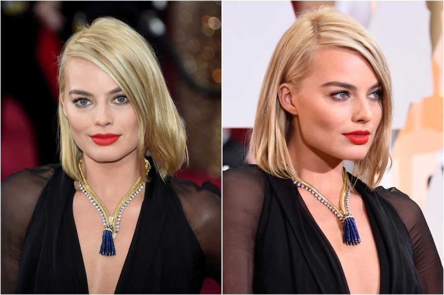 9. Margot Robbie, 2015 Oscars | The Most Memorable Red Carpet Jewelry | Her Beauty