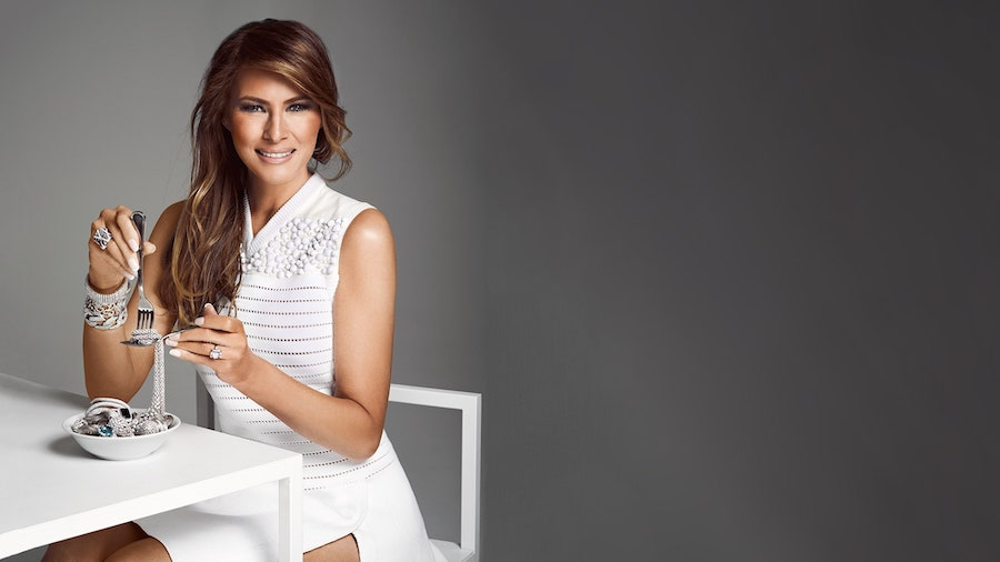 7. She had a Jewellery and Makeup Line | What Was Melania Trump Like When She Was Young? | Her Beauty