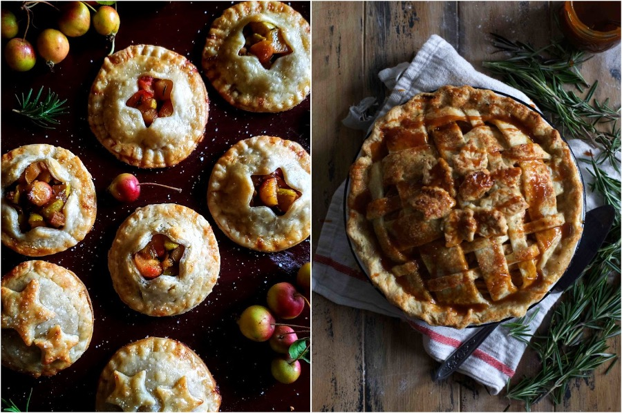 6. Apple Rosemary Pie | 10 Desserts With Herbs You Should Try | Her Beauty